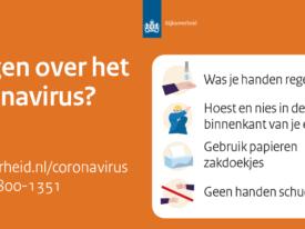 RIVM-flyer coronavirus